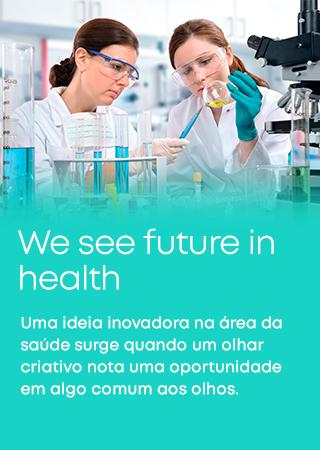 Uma ideia inovadora na área da saúde surge quando um olhar criativo nota uma oportunidade em algo comum aos olhos.